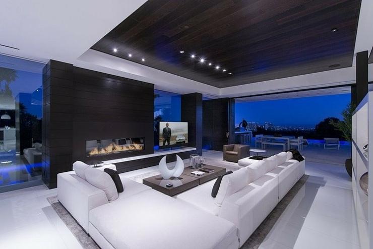 Tr s belle maison au design unique beverly hills - Vacances hawaii villa de luxe ultime ...