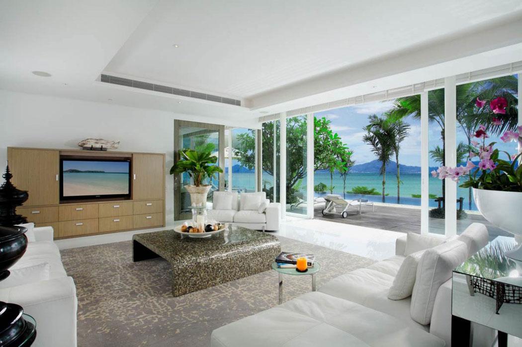 Splendide villa de luxe face à l'océan située à Phuket ...