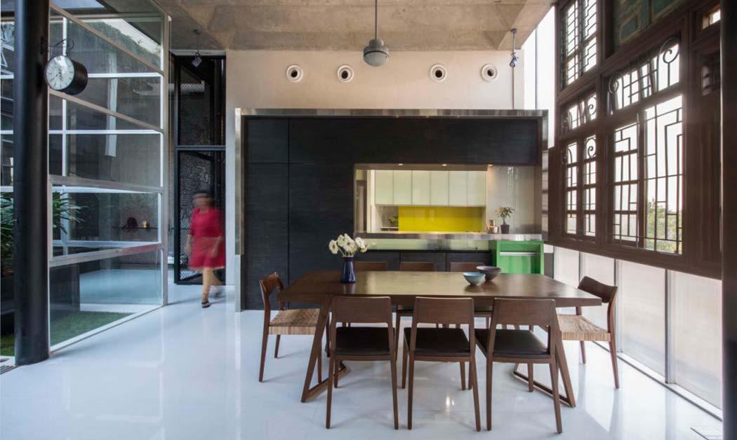 Originale et int ressante maison de charme la fa ade recycl e mumbai vivons maison Kitchen design mumbai pictures