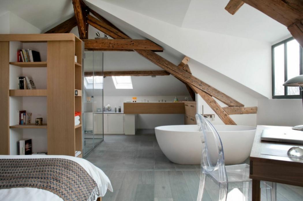 Stunning amenagement maison ancienne photos design for Interieur maison ancienne renovee