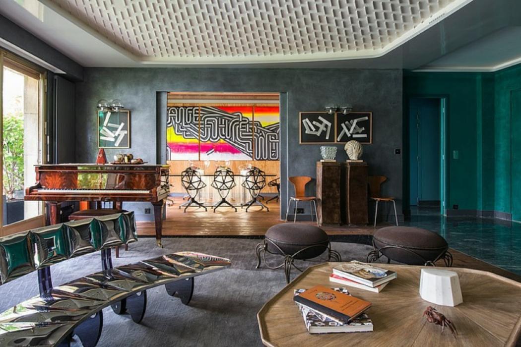 Bon Appartement De Luxe Au Design éclectique à Paris. Décoration Designer Du0027 Intérieur Appartement Paris