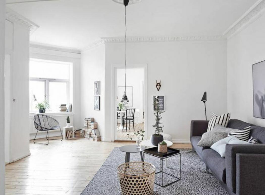 Appartement moderne au design scandinave vivons maison for Decoration d appartement moderne