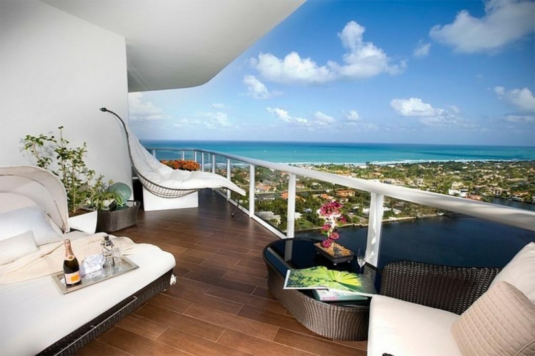 L gant appartement avec vue sur la mer miami vivons - Maison secondaire cotiere avec vue katch ...