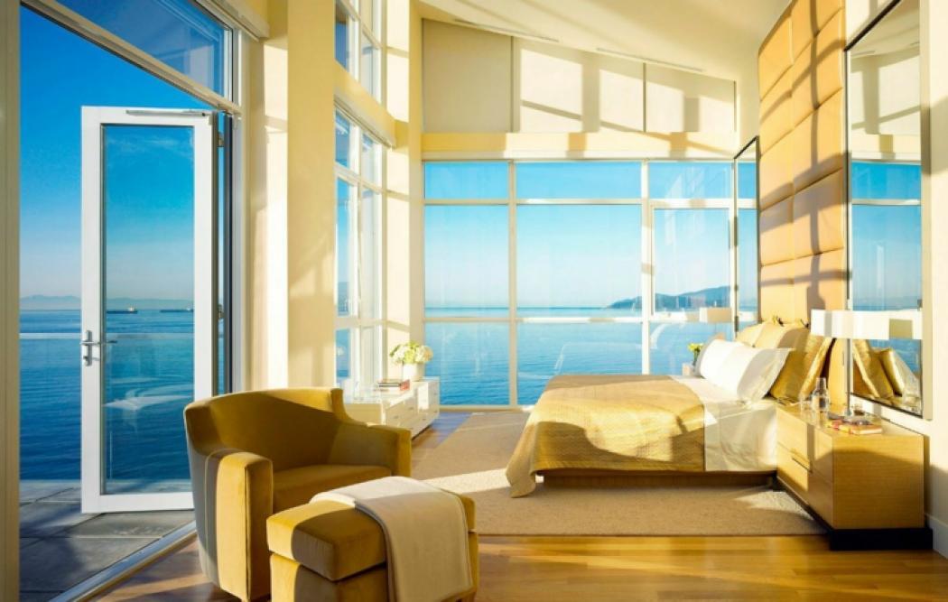 Bel appartement avec vue sur mer west vancouver vivons for Chambre avec vue sur la guerre