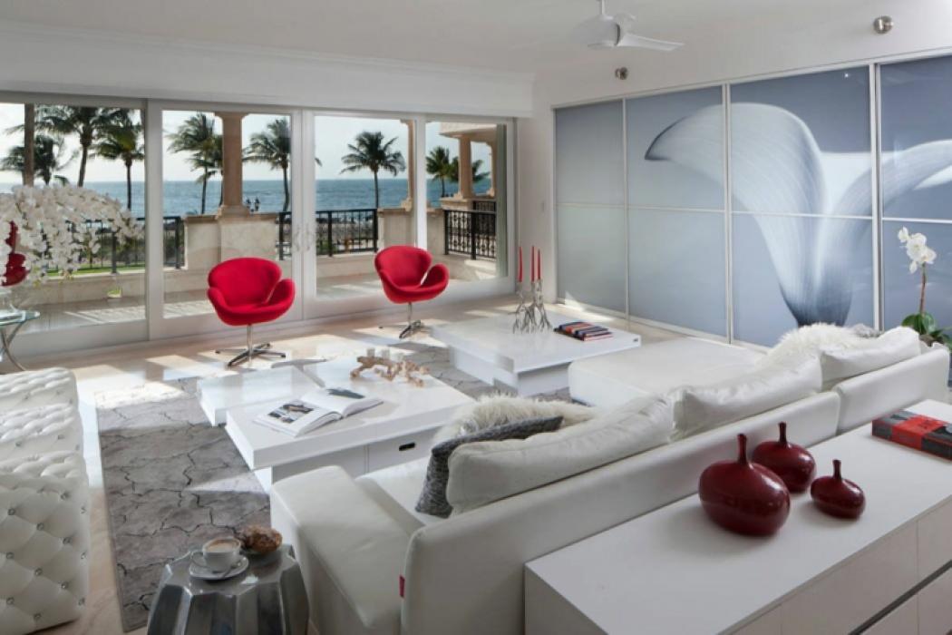 Appartement de luxe pour des vacances uniques miami for Interieur appartement design