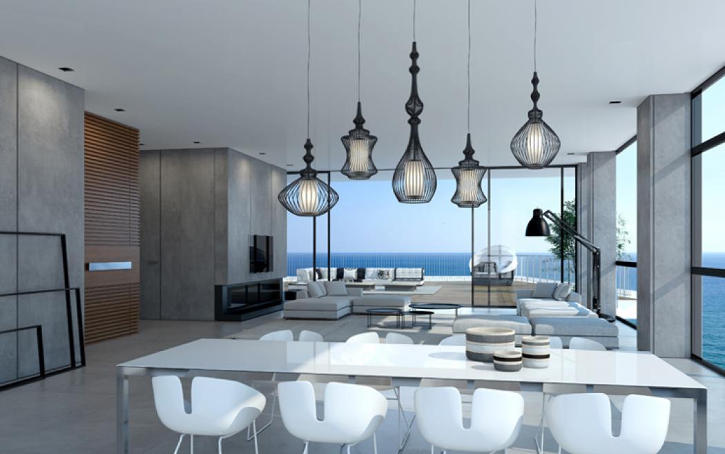 salle à manger design luxe