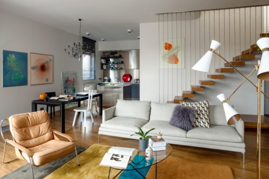 Exceptionnel Appartement Moderne à Lu0027intérieur Design En Pologne