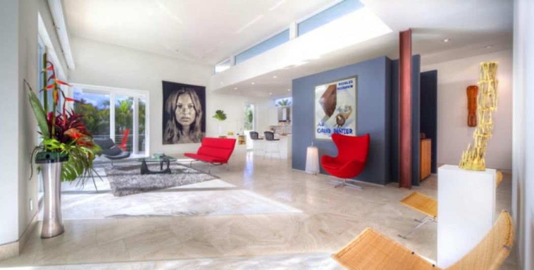 Maison neuve moderne intrieur tendance moderne maison for Interieur de maison neuve