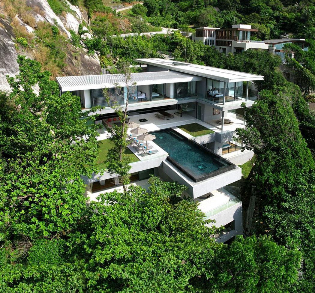 villa de luxe tourisme exotique Thaïlande