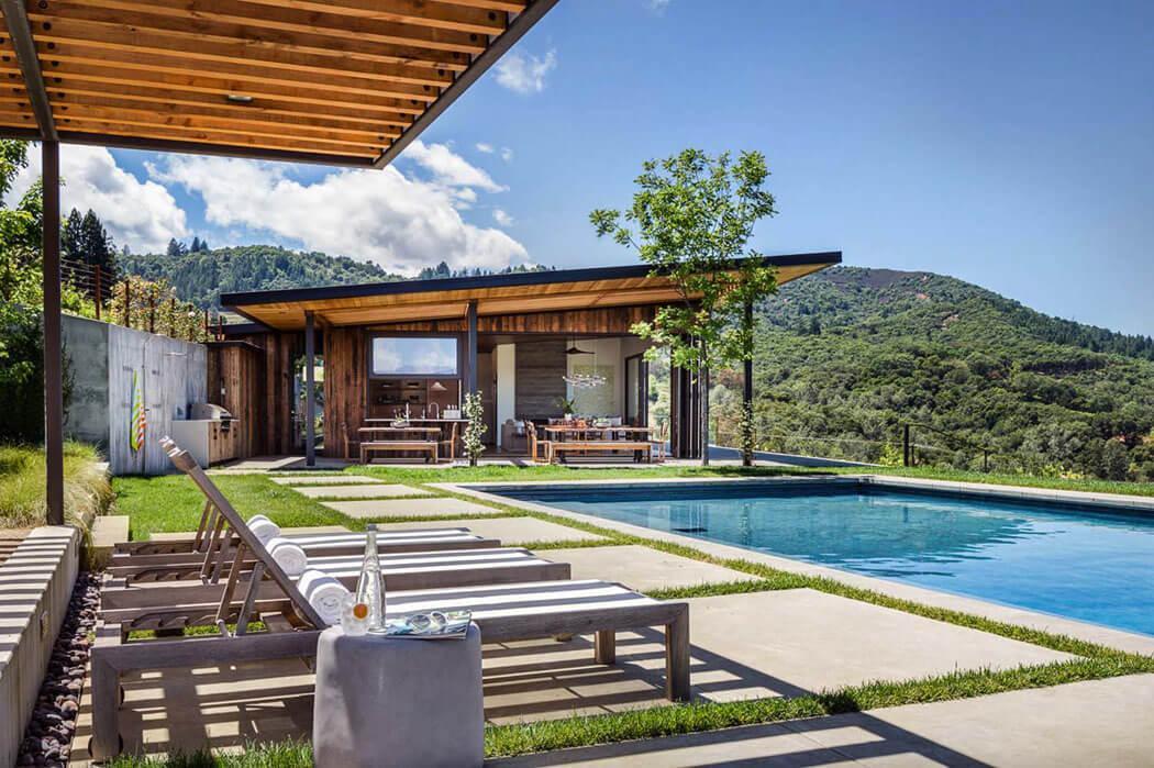 maison secondaire vacances bucoliques campagne architecture moderne