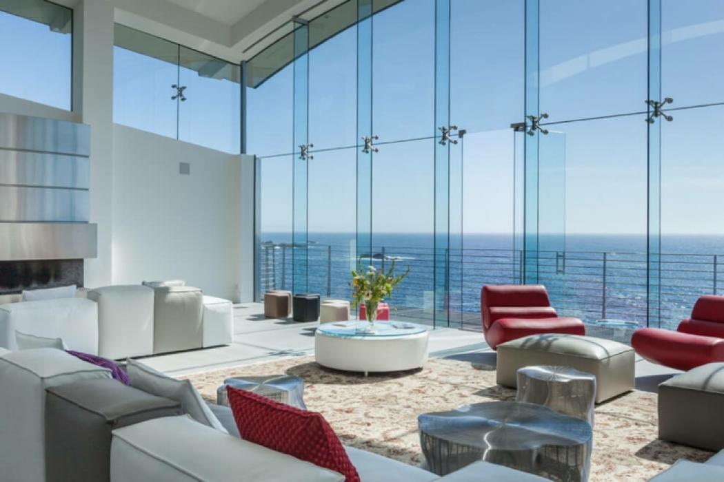 Architecture moderne pour une maison californienne perch e sur la colline v - Architecture moderne maison ...