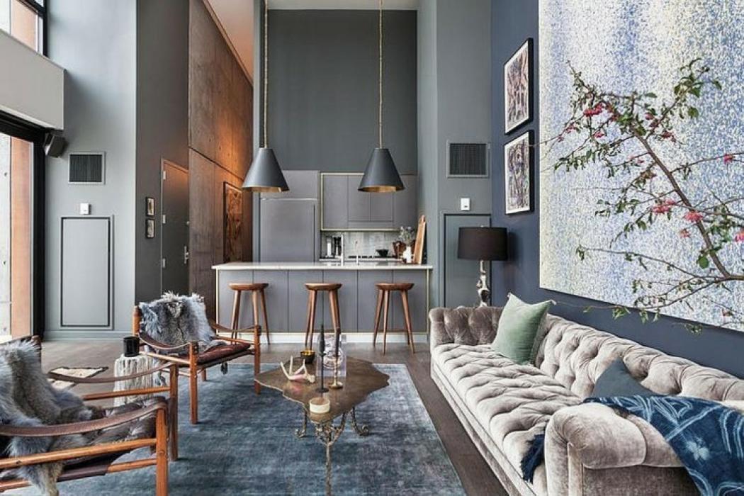 Bel appartement brooklyn au design clectique vivons for Design of appartement