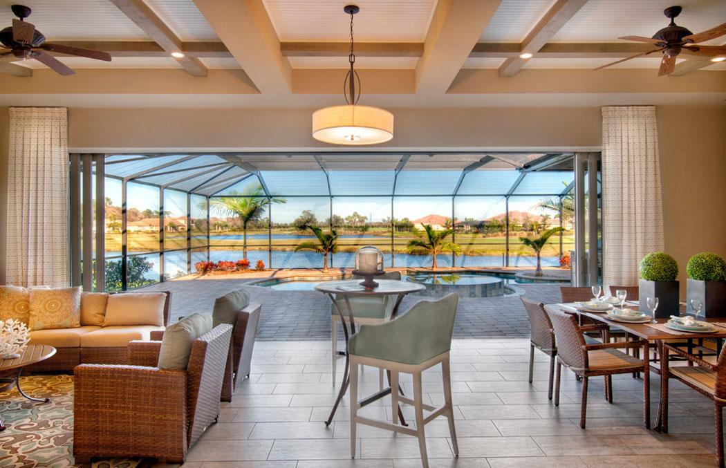 Belle demeure miami l architecture int rieure ouverte et originale vivo - Les plus belles verandas ...