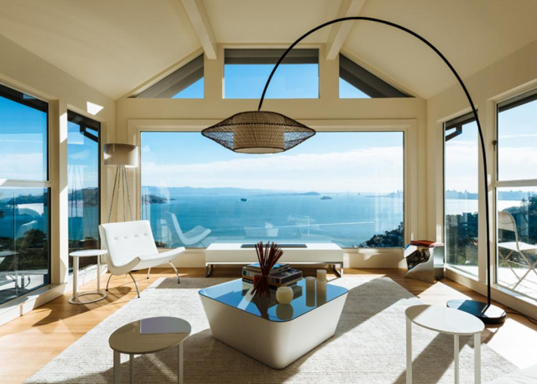 Maison avec vue imprenable sur l eau san francisco vivons maison - Kamer comtemporaine ...