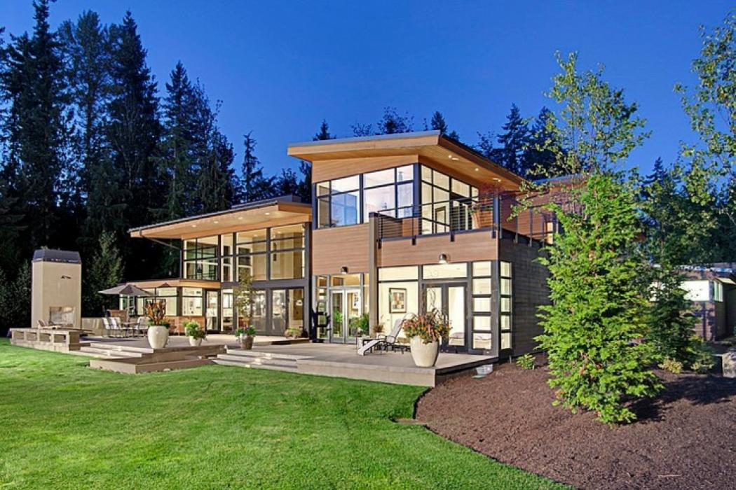 Contemporaine et belle maison familiale seattle vivons for Architecture moderne belle maison