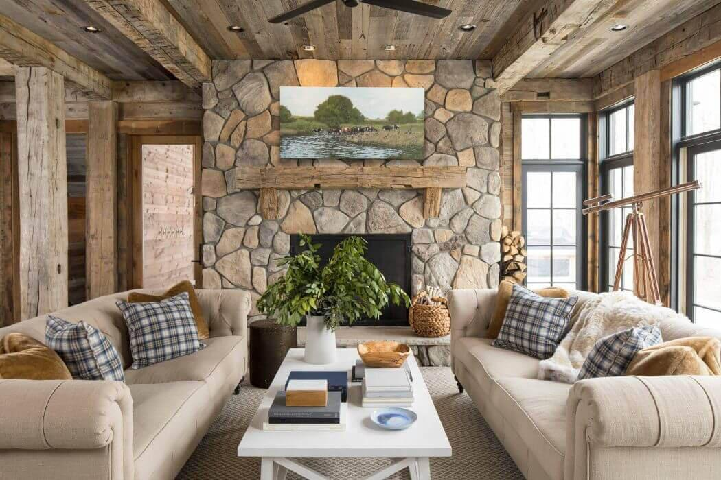 Beautiful Interieur Maison Americaine Photos - Amazing House Design