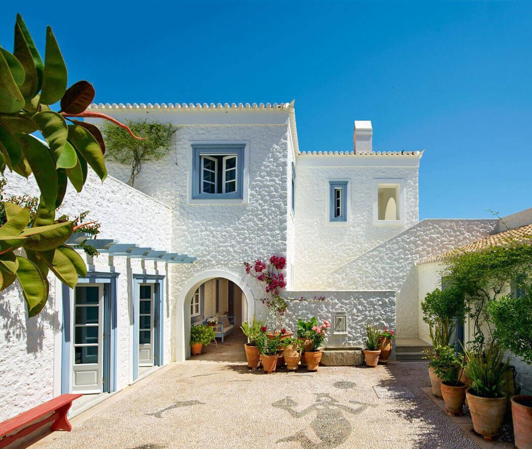vacances exotiques belle maison rénovée luxe îles grecques