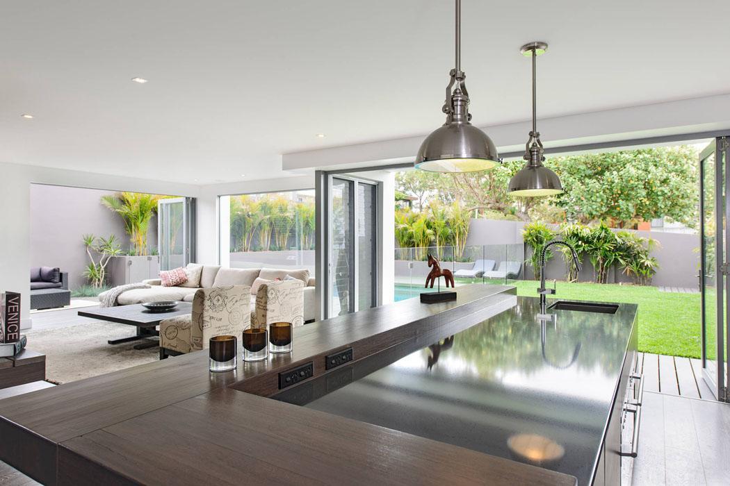 Belle maison design moderne mi chemin entre la ville et la c te australienn - Belle maison contemporaine design ...
