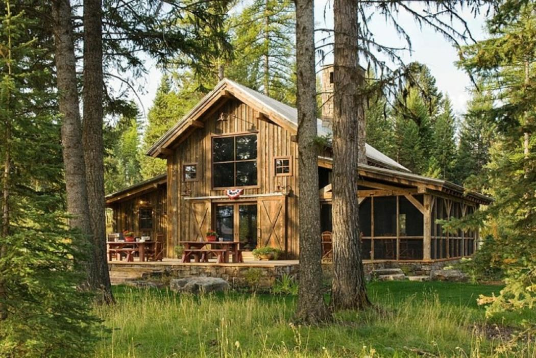 Chalet En Bois Swan Valley on Small Open Floor Plan House Plans With Ranch