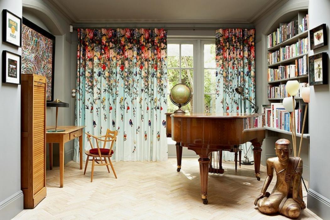 intérieur éclectique design maison de ville londres