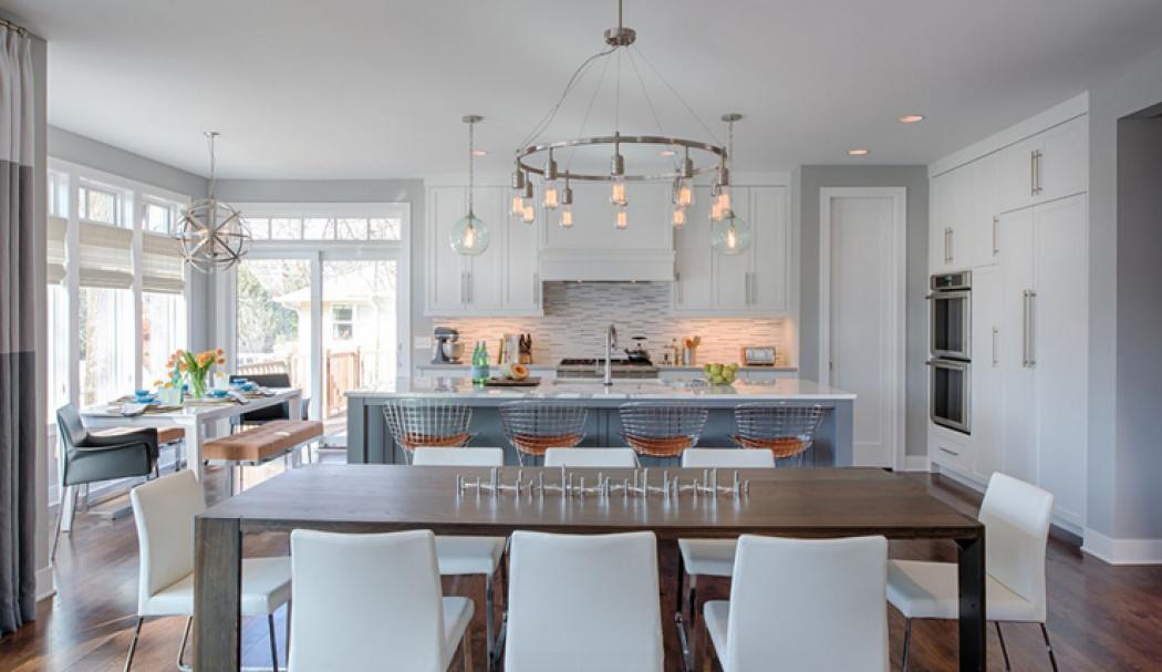 Belle maison au design intérieur éclectique à Minneapolis