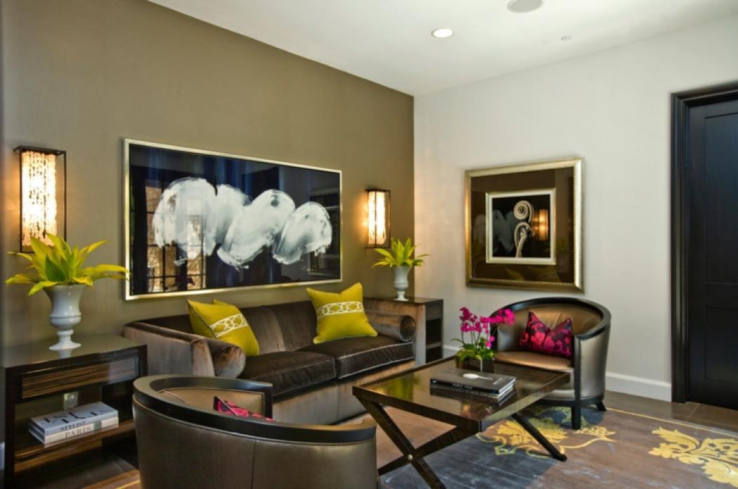 int rieur design d une jolie maison c ti re californienne. Black Bedroom Furniture Sets. Home Design Ideas