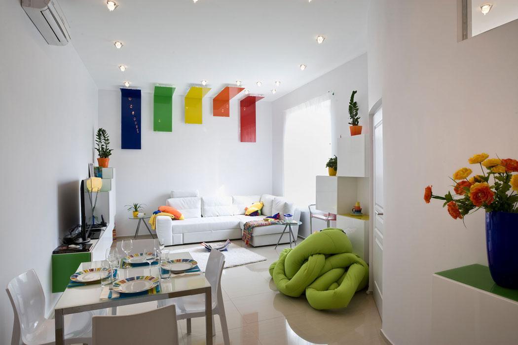 intérieur moderne appartement refait à neuf