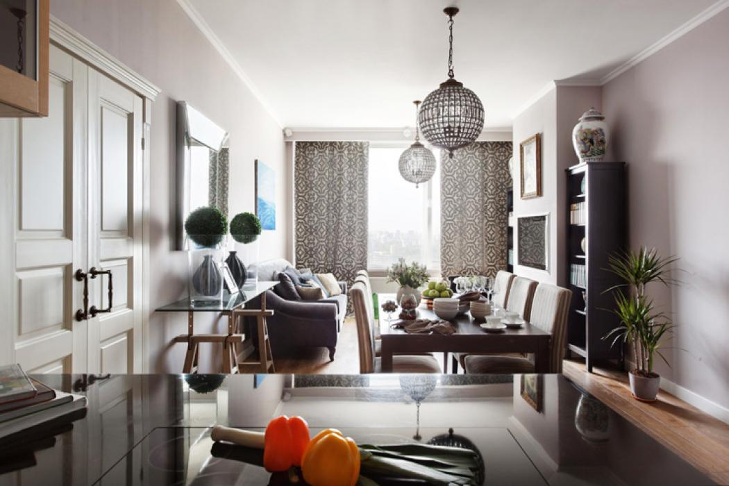 Bel appartement au design moderne et accueillant moscou vivons maison - Appartement moderne de ville decor design ...