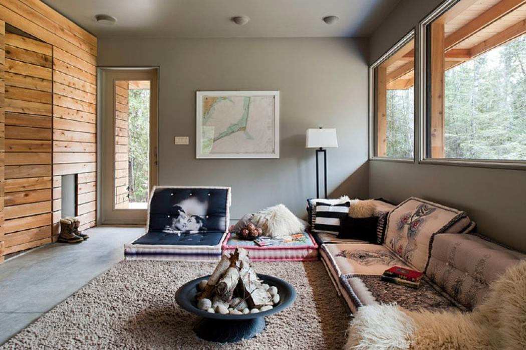 Coresponsable chalet en bois au canada vivons maison for Interieur chalet en bois