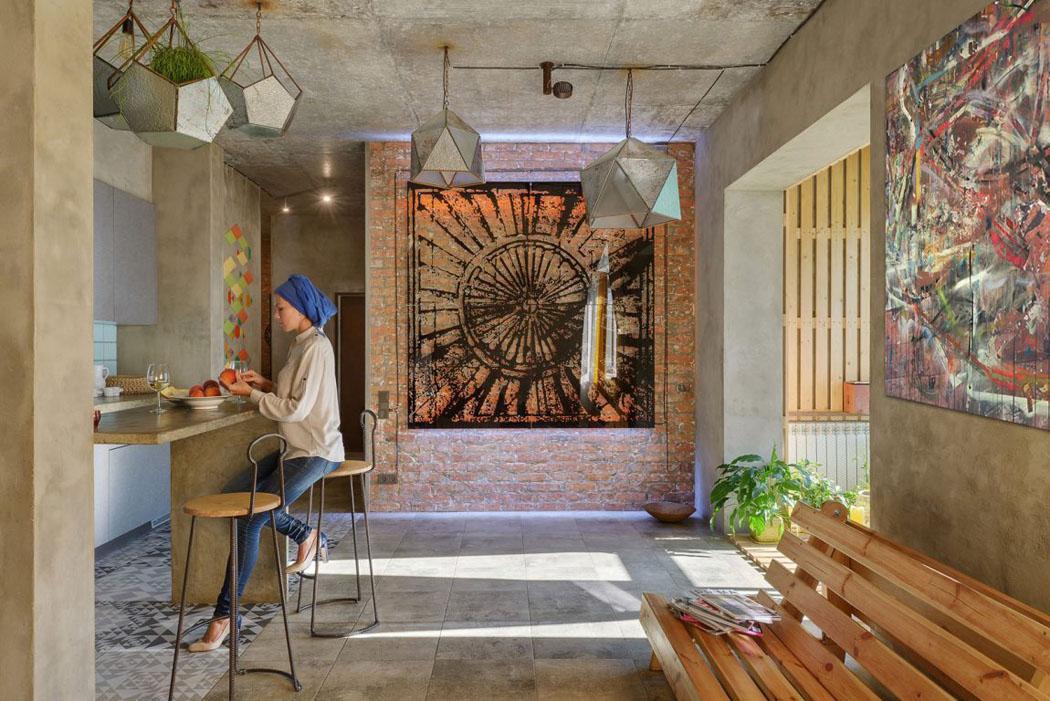 design intérieur éclectique original appartement de ville maison citadine