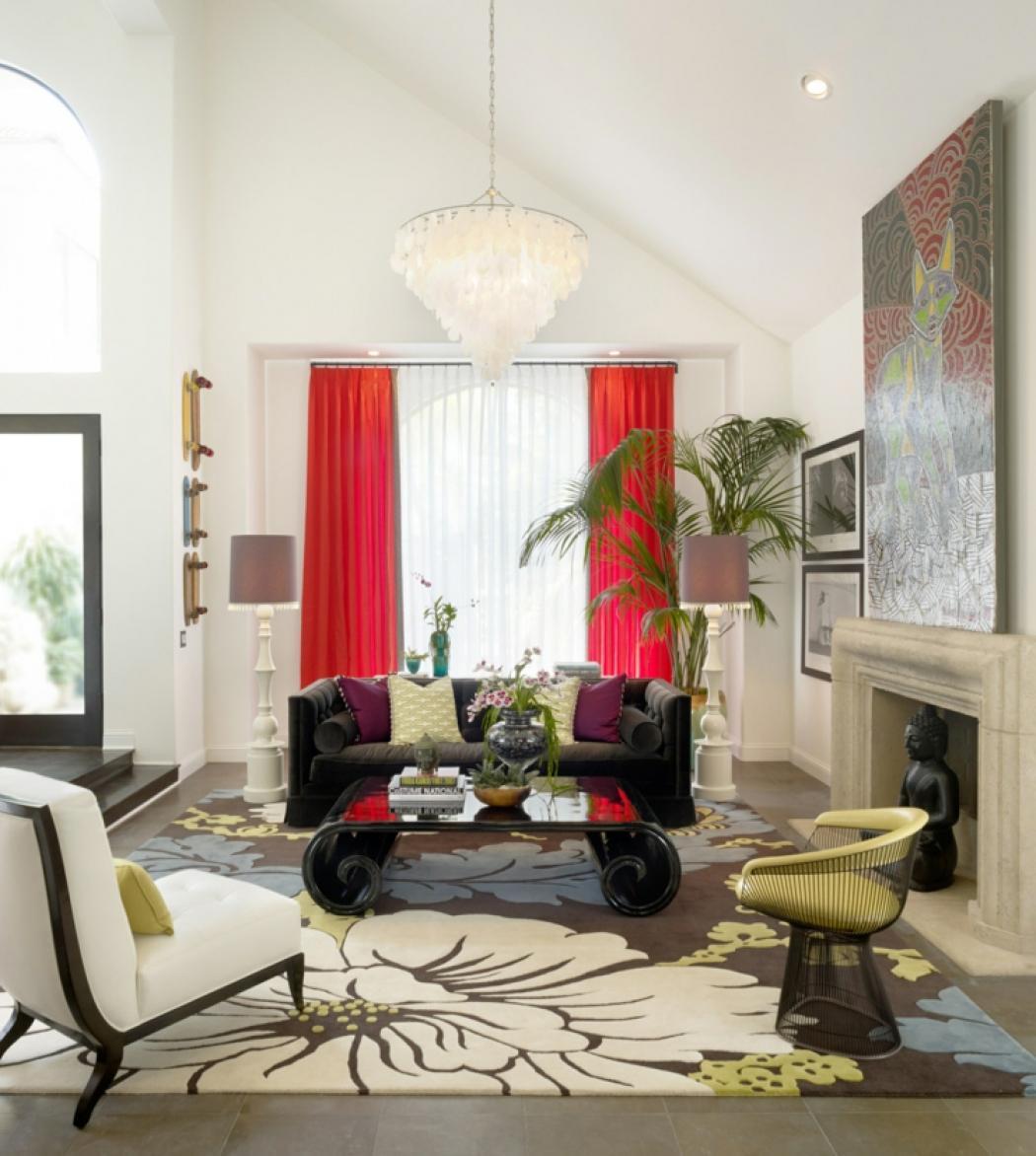 Séjour Couleurs Design Maison Moderne