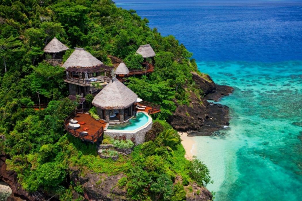 Vacances de luxe au complexe h telier fidjien laucala vivons maison - Maison de vacances islande ...