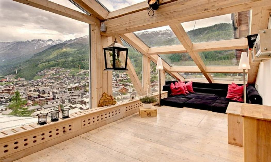 belle location de vacances alpine