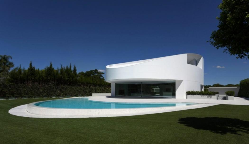 Maison d architecte originale valence espagne vivons for Maisons d architectes design contemporain