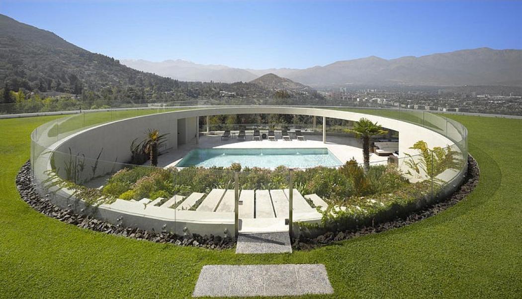 Maison d architecte santiago chili vivons maison - Villa architecte moderne maison ...