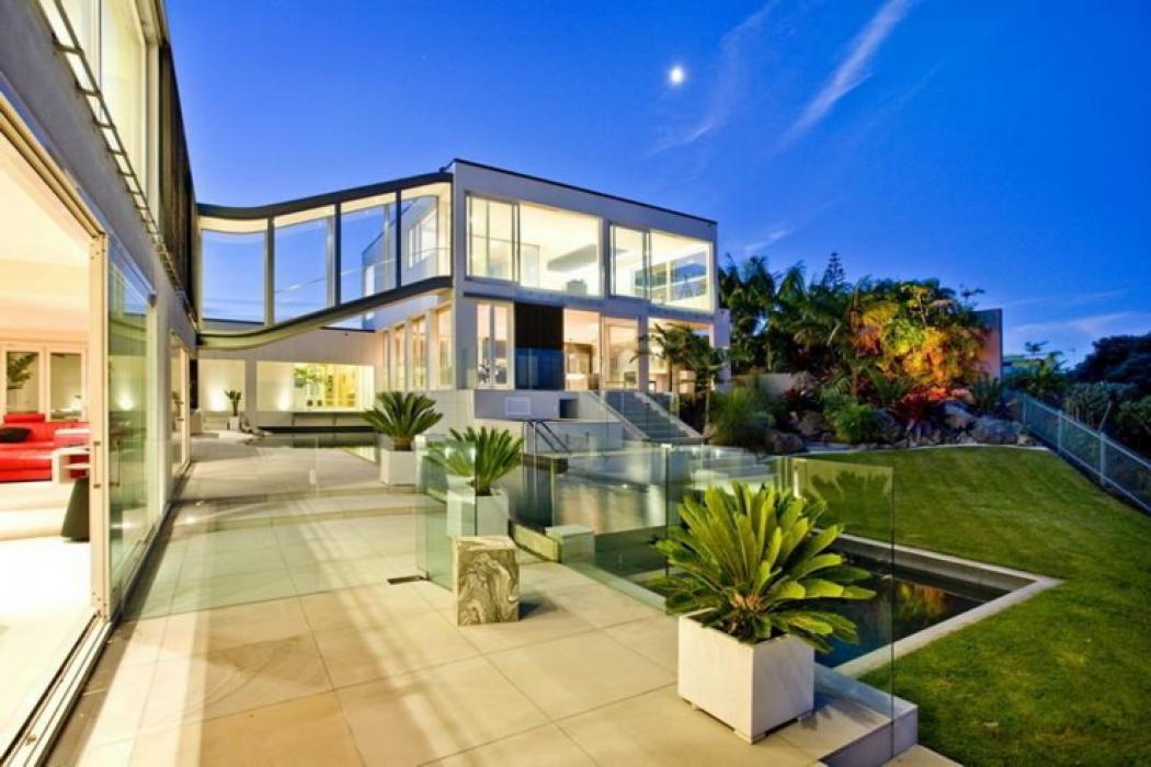 maison contemporaine aucklande de luxe