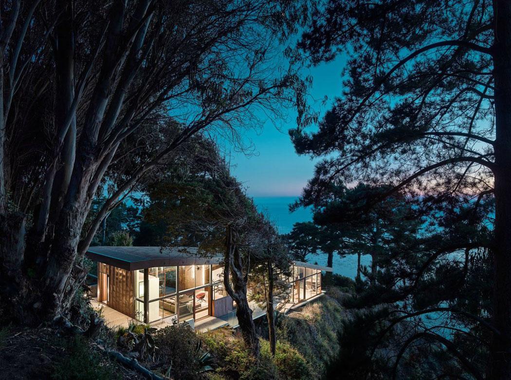 Magnifique maison contemporaine en californie avec une vue - Architecture contemporaine residence parks ...