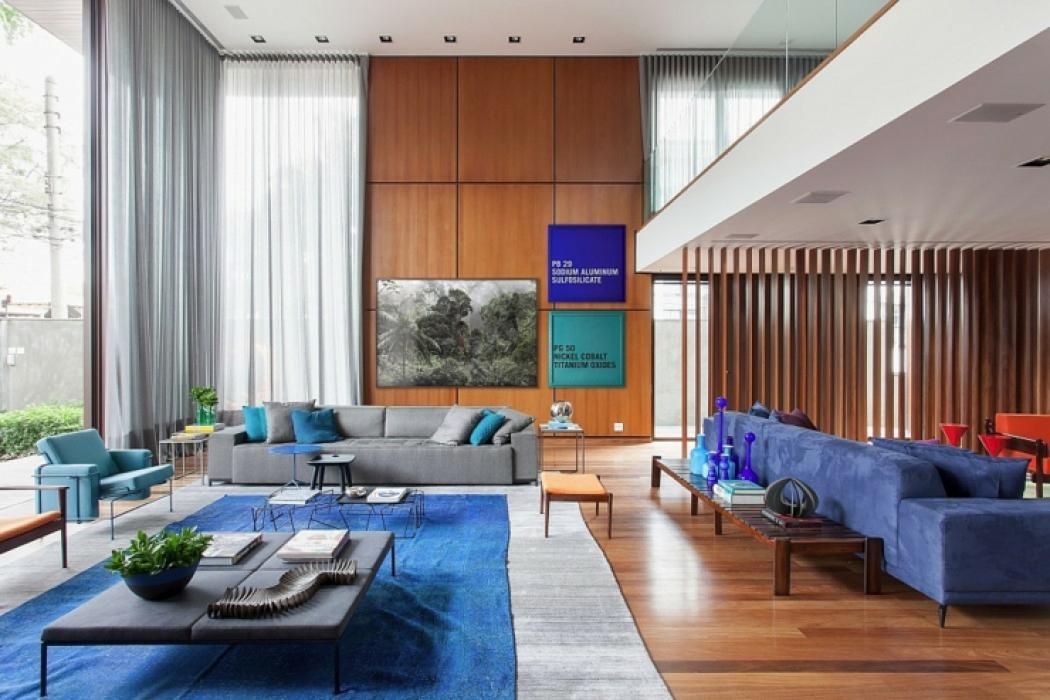 intérieur accueillant maison de ville moderne