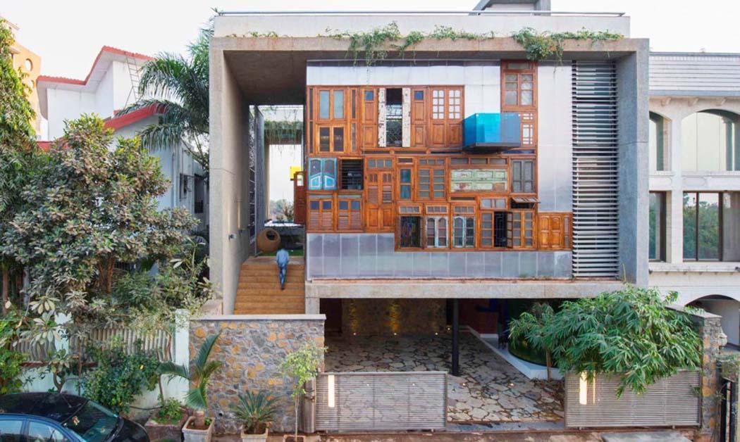 Originale et int ressante maison de charme la fa ade for Facade maison originale