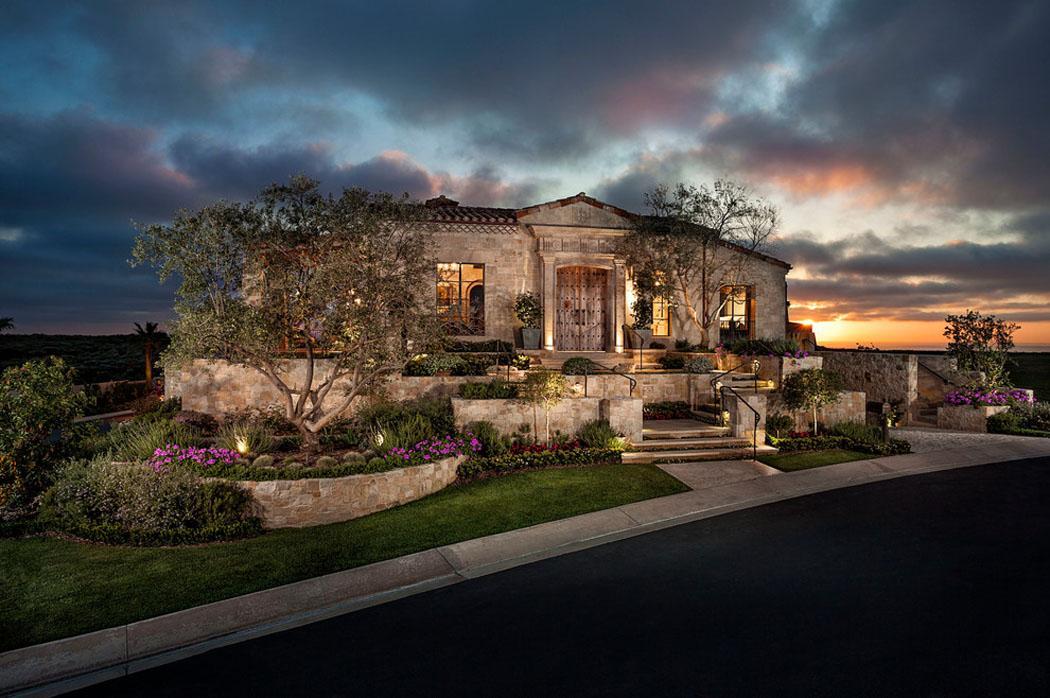 Superbe maison de prestige au comt d orange au design - Maison d architecte orange county californie ...