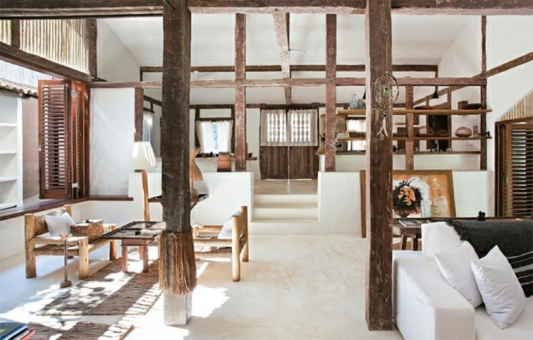 Maison de vacances au br sil l int rieur minimaliste for Foto minimaliste