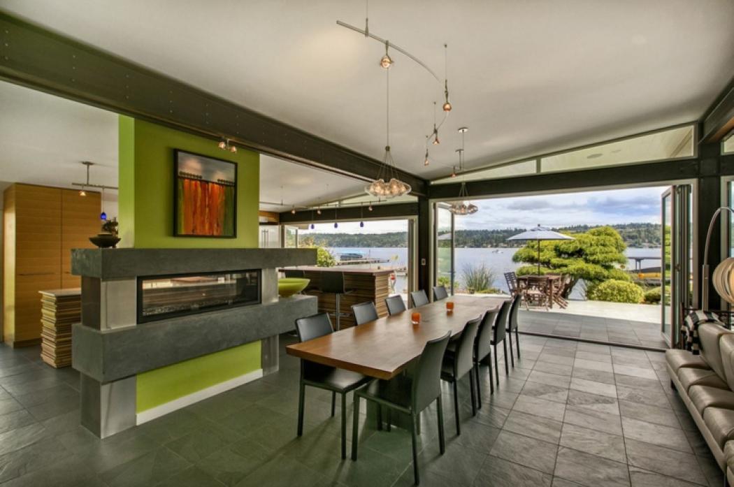 maison citadine design moderne