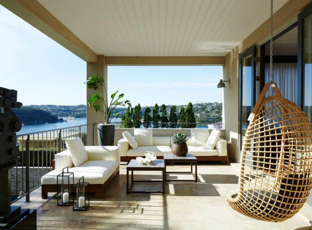 balcon maison de ville vue mer