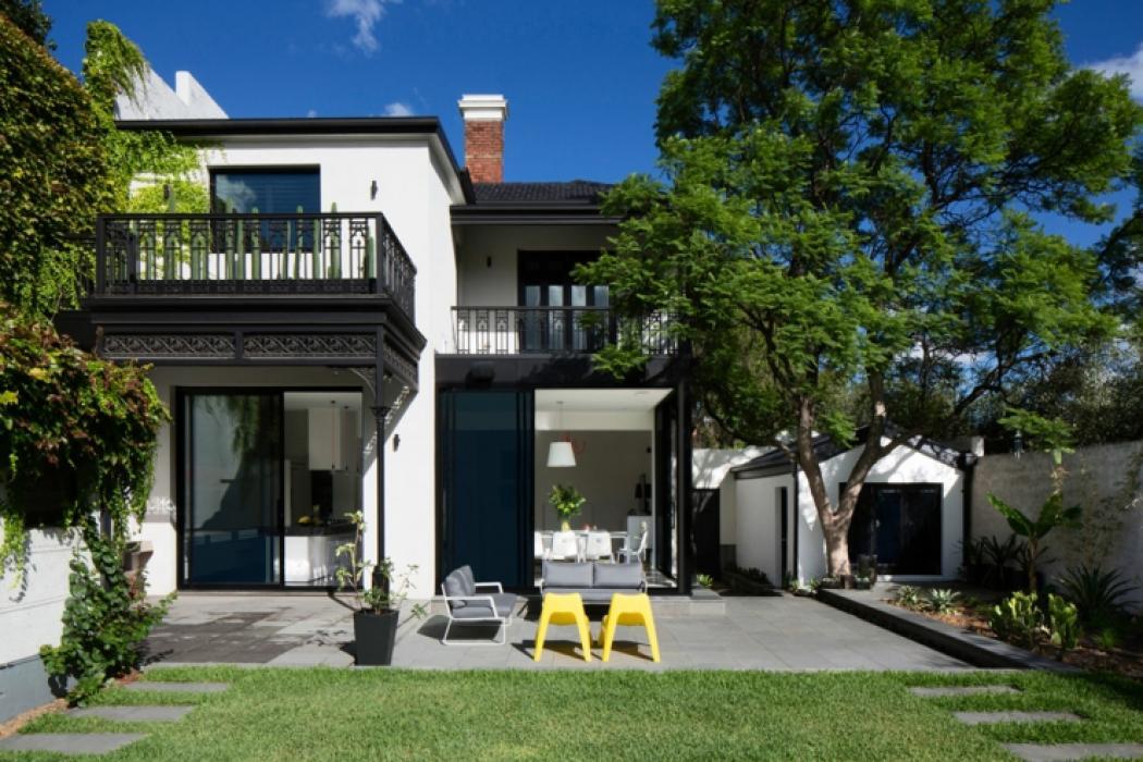 Maison de ville au design int rieur luxe melbourne australie vivons maison - Maison de ville rustique adelaide ...