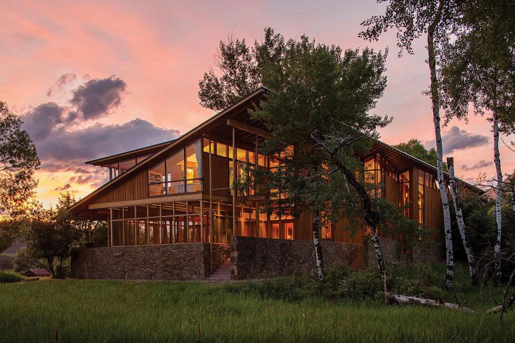 Moderne et accueillante maison en bois au c ur de la - Vacances a la montagne villa rustique aspen ...