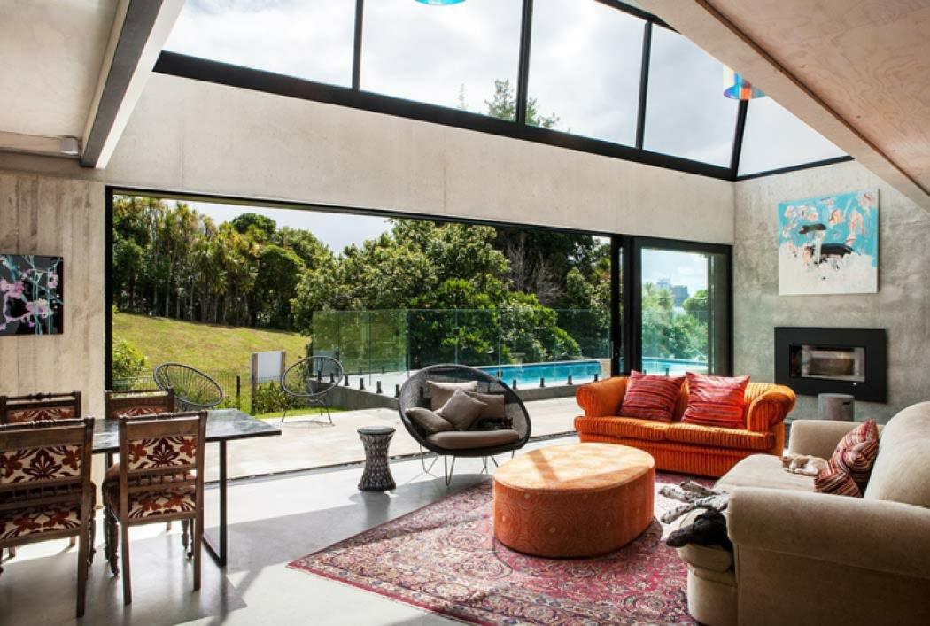 Maison industrielle au design original à Auckland – Nouvelle ...