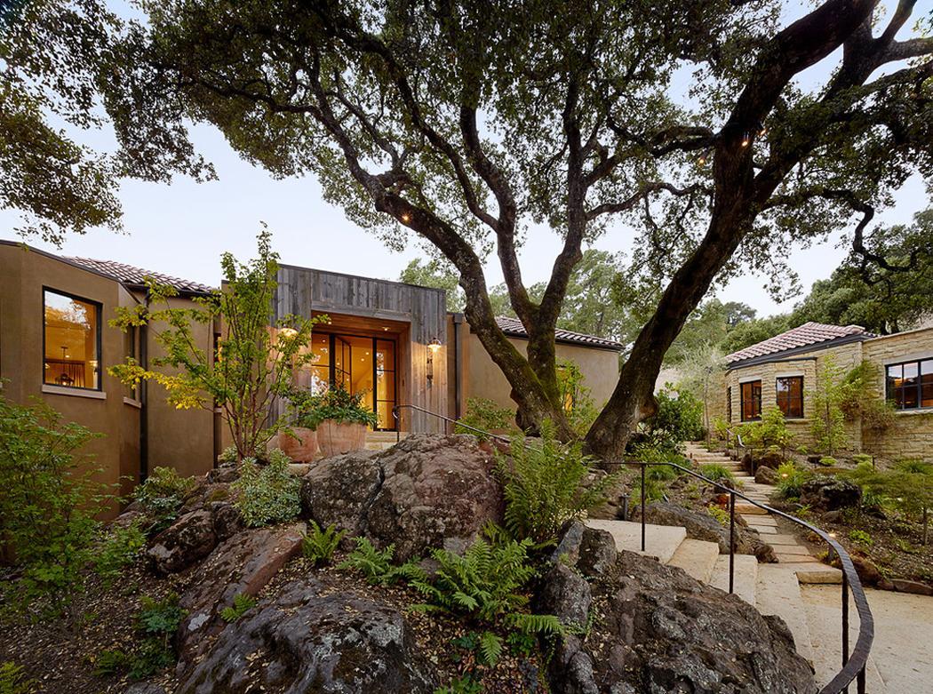 jolie maison moderne dans les alentours de san francisco vivons maison. Black Bedroom Furniture Sets. Home Design Ideas