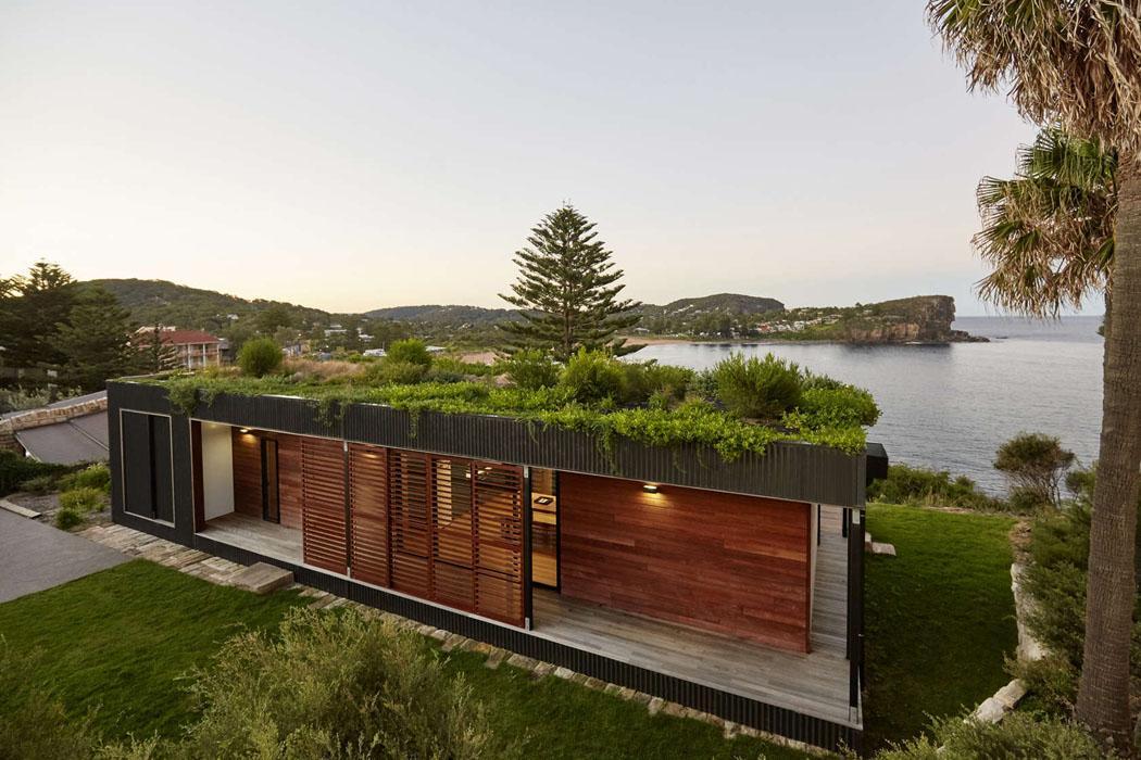 Jolie maison modulaire de plain pied sur le bord de l oc an en australie vi - Maison modulaire prefabriquee ...