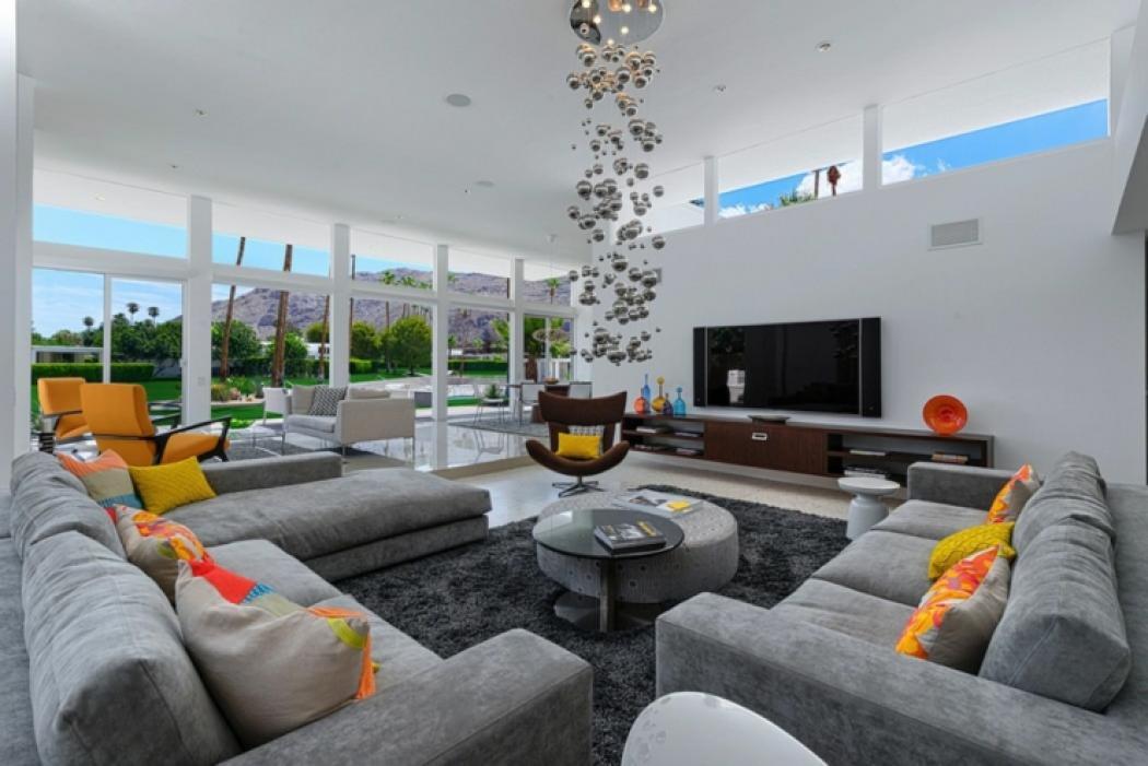 séjour maison neuve luxueuse