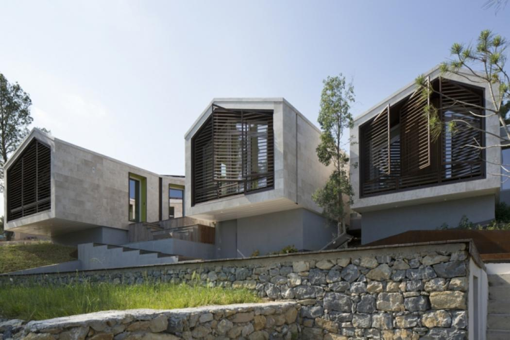 Maison originale l architecture cr ative en france for Architecture originale